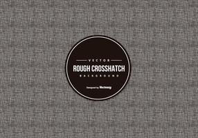 Rough Crosshatch Muster Hintergrund vektor