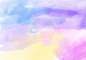 Multicolor Vektor Aquarell Hintergrund