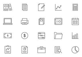 Kostenlose Buchhaltung Vektoren
