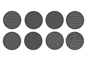 Free Speaker Grill Icons Vektor