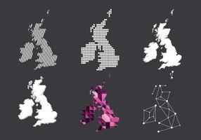 Art der britischen Inseln Vektor