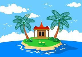 Kokosnuss Kerala Freier Vektor