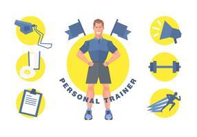 Free Personal Trainer Vektor