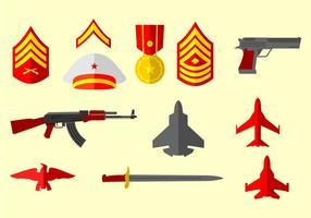 Enad statlig militär vektor