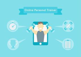 Kostenlose Iconic Personal Trainer Vektoren