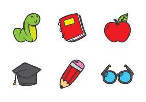 Utbildning Doodle Icon vektor