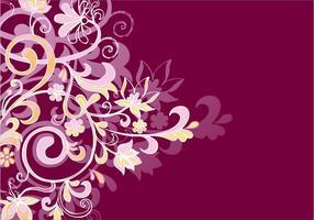 Dekorative Ornament Hintergrund vektor