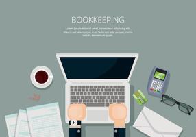 Buchhaltung Illustration