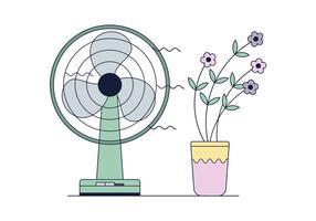 Kostenloser Fan-Vektor vektor