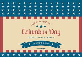 Columbus dag 2017 illustration vektor