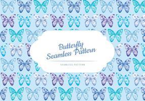Vektor Schmetterling Muster