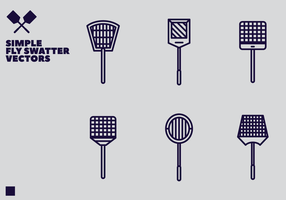 Gratis Fly Swatter Vector