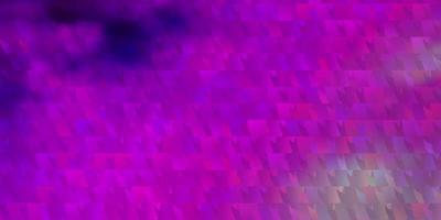 rosa Layout mit Linien, Dreiecken.