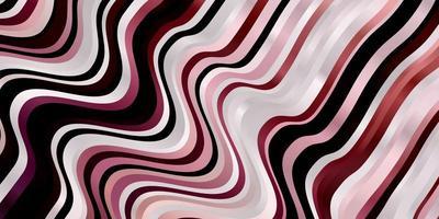 rosa Hintergrund mit gebogenen Linien.