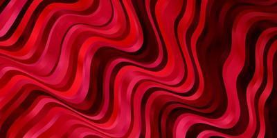 röd mall med böjda linjer.