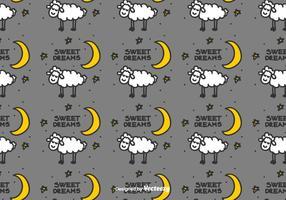 Bedtime Vektor Muster