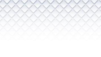 weißer geometrischer quadratischer Hintergrund vektor