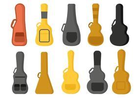 Freier Gitarren-Fall-Vektor