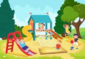 Dschungel-Gym für Kinder