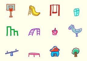 Spielplatz Icons
