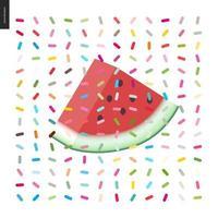 Scheibe Wassermelone