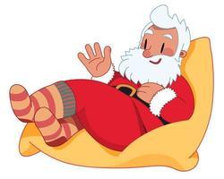jultomten på bönsäcken