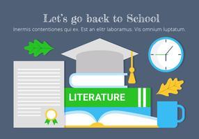 Kostenlose Bildung Vektor Elemente und Icons