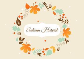Free Herbst Vektor Hintergrund