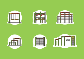 Dschungel Gym Free Vector Pack