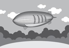 Monochrom-lenkbarer Vektor