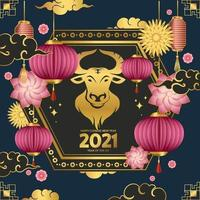 kinesiskt nyår av oxen