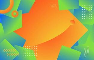 kurviger gestapelter geometrischer Hintergrund vektor
