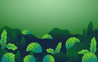 grüner Hintergrund der organischen Pflanze vektor