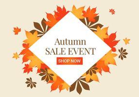 Free Herbst Elemente Vektor Hintergrund