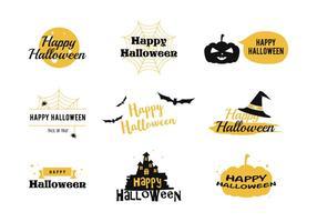 Glücklicher Halloween-Vektor vektor