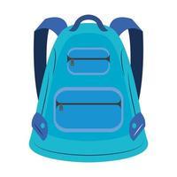 tecknad skolryggsäck
