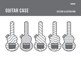Gitarren-Fall Vektor-Illustration vektor
