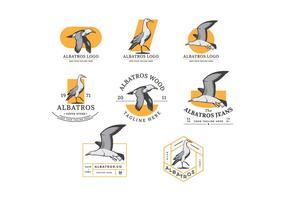 Kostenlose Albatros-Vektor-Abzeichen vektor