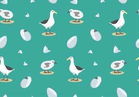 Albatros Muster Freier Vektor