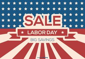 Labor Day Sale bakgrund