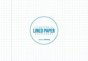 Kvadratfodrad anteckningsbokpapper bakgrund vektor