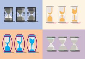 Eier-Timer-Countdown-Vektor