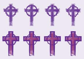 lånat kors vektor