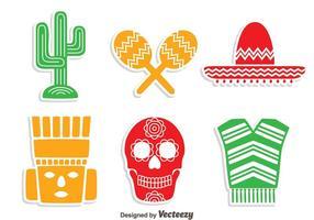 Mexikanisches Element Vektor