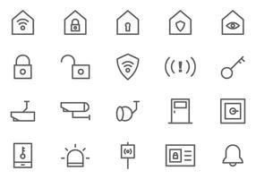 freie Nachbarschafts-Uhrenvektoren vektor
