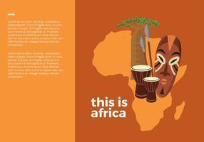 Detta är Afrika Gratis Vector