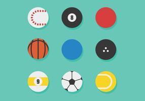 Sportbollar vektor