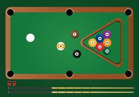 Billard-Pool-Vektor vektor