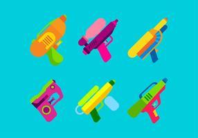 watergun set free vector