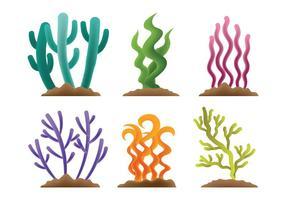 Sea Weed Vector Ikoner